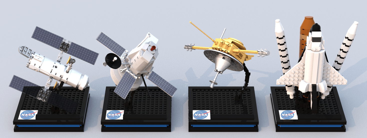 LEGO Ideas Entwurf NASA Spacecraft