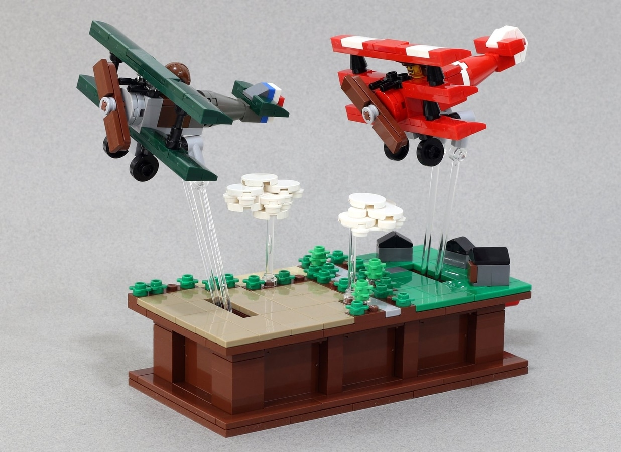 LEGO Ideas Entwurf Pursuit of Flight