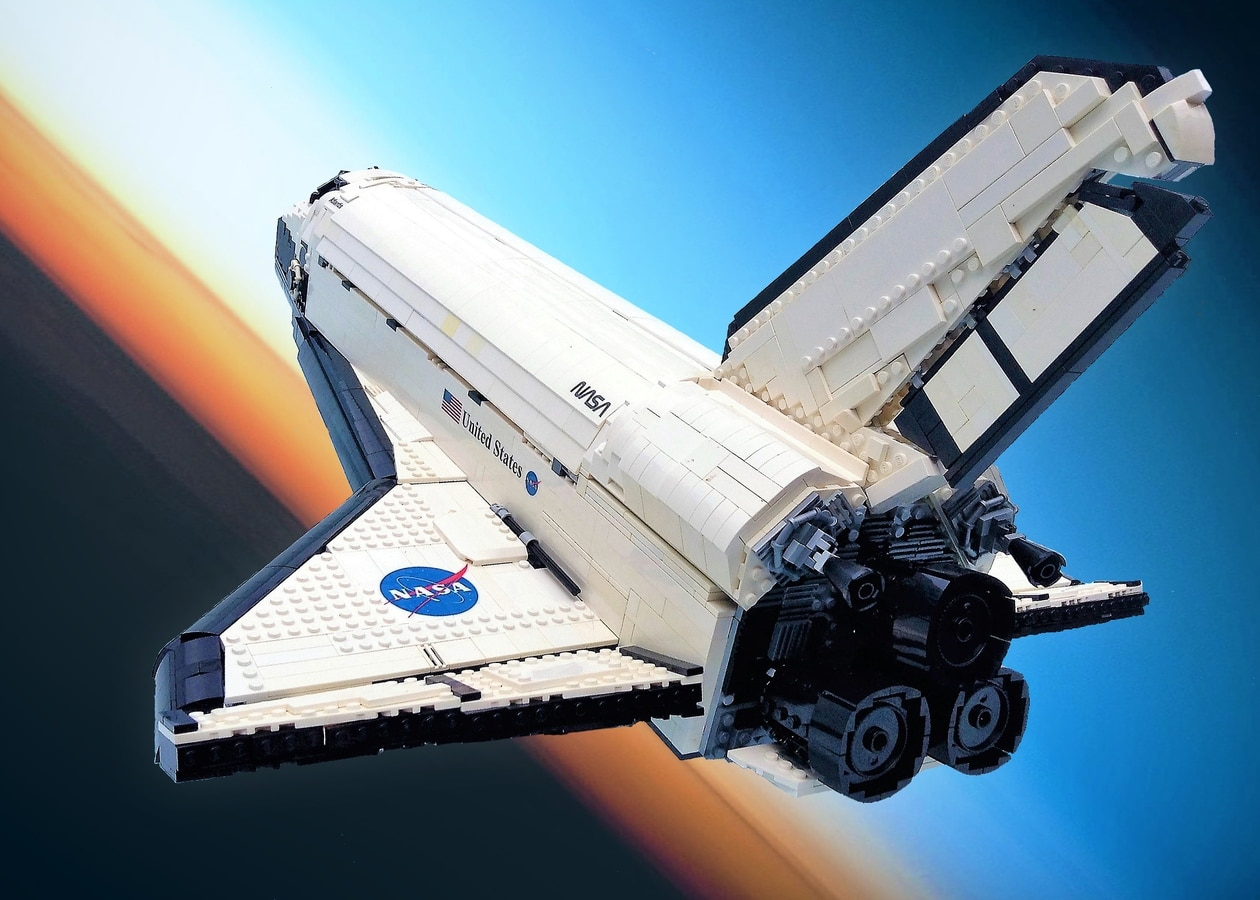 LEGO Ideas Entwurf Space Shuttle