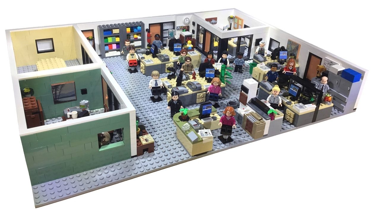 LEGO Ideas Entwurf The Office