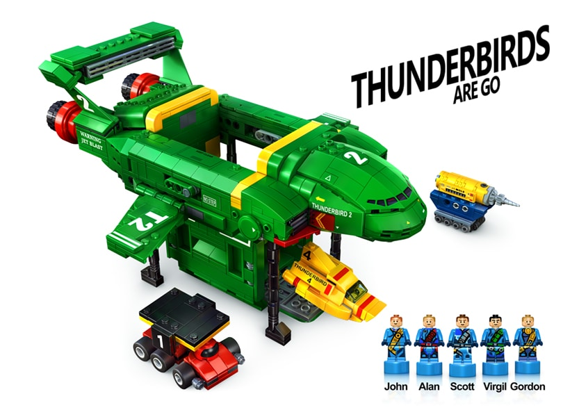 LEGO Ideas Entwurf Thunderbirds Are Go