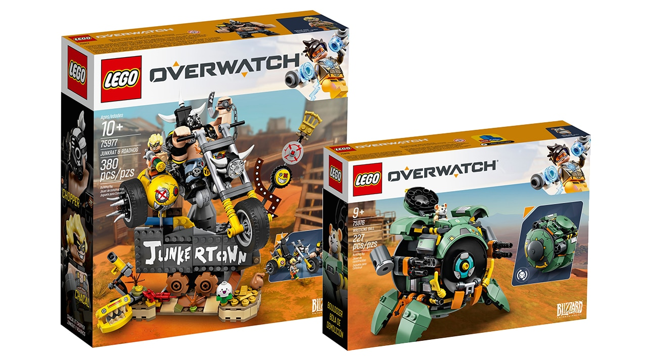 LEGO Overwatch Oktober 2019