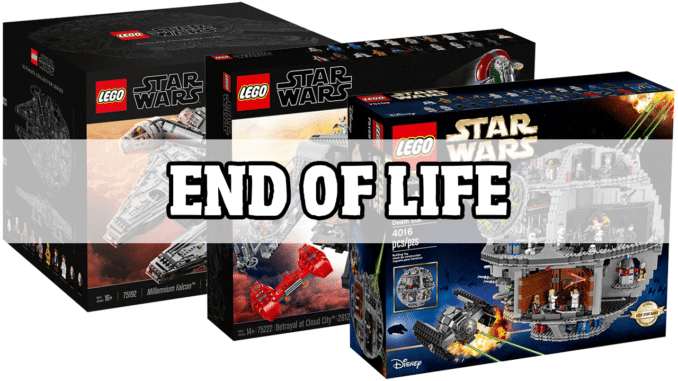 LEGO Star Wars End of Life