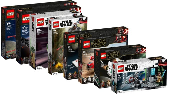 LEGO Star Wars Sets Oktober 2019