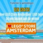 LEGO Store Amsterdam Eröffnung Aktionen