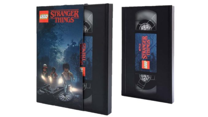 LEGO Stranger Things Notizbuch