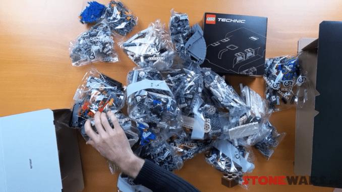 LEGO Technic 42100 Unboxing