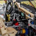 LEGO Technic 42110 Land Rover Defender Innenraum