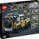 LEGO Technic 42110 Land Rover Defender Box Rückseite