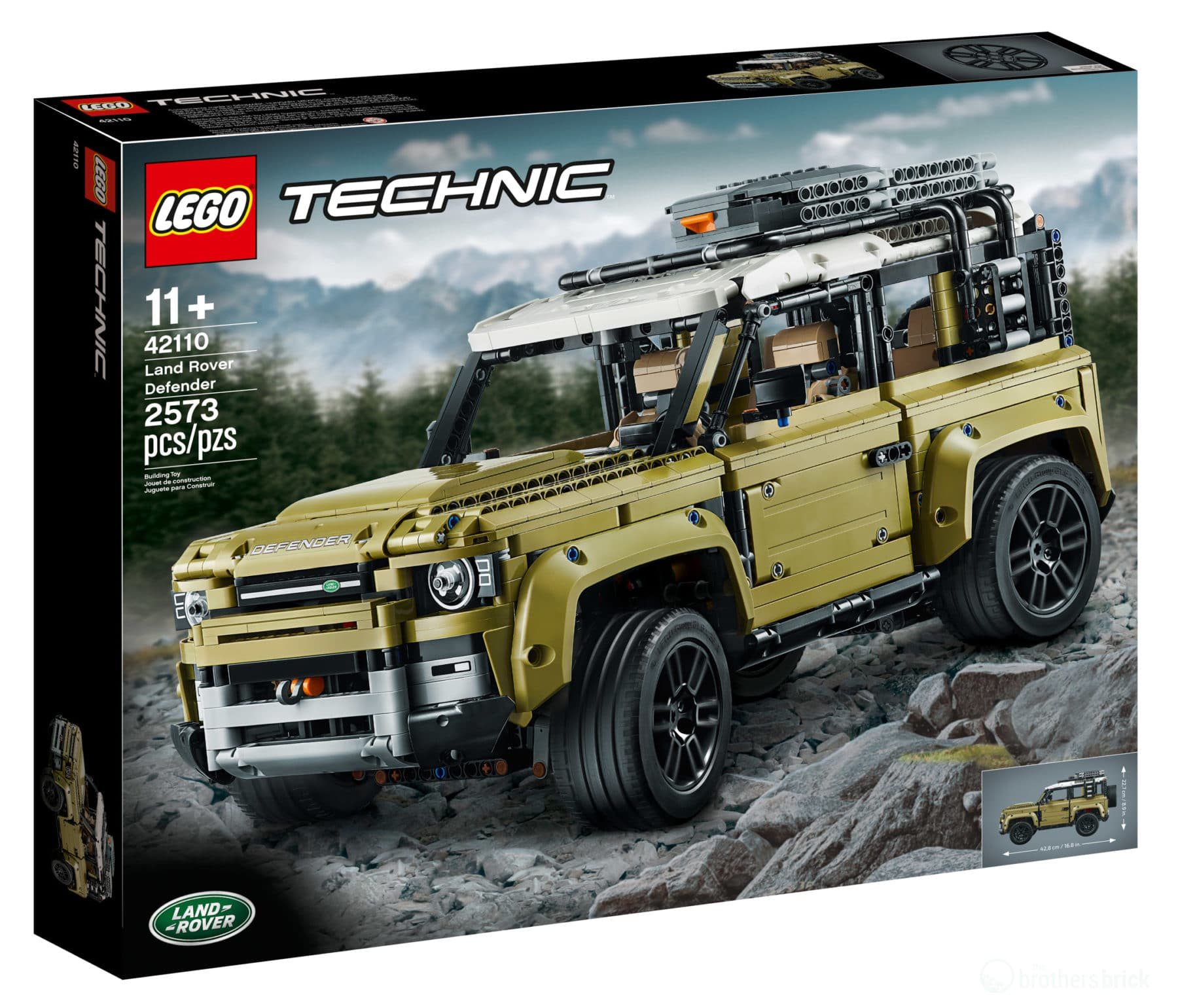 LEGO Technic 42110 Land Rover Defender Box