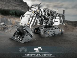 LEGO Technic Control+ App Liebherr R9800