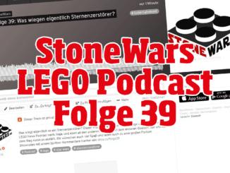 StoneWars LEGO Podcast Folge 39