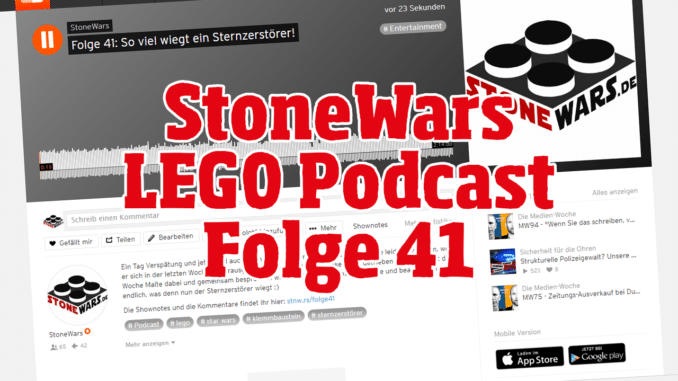 StoneWars Podcast Folge 41