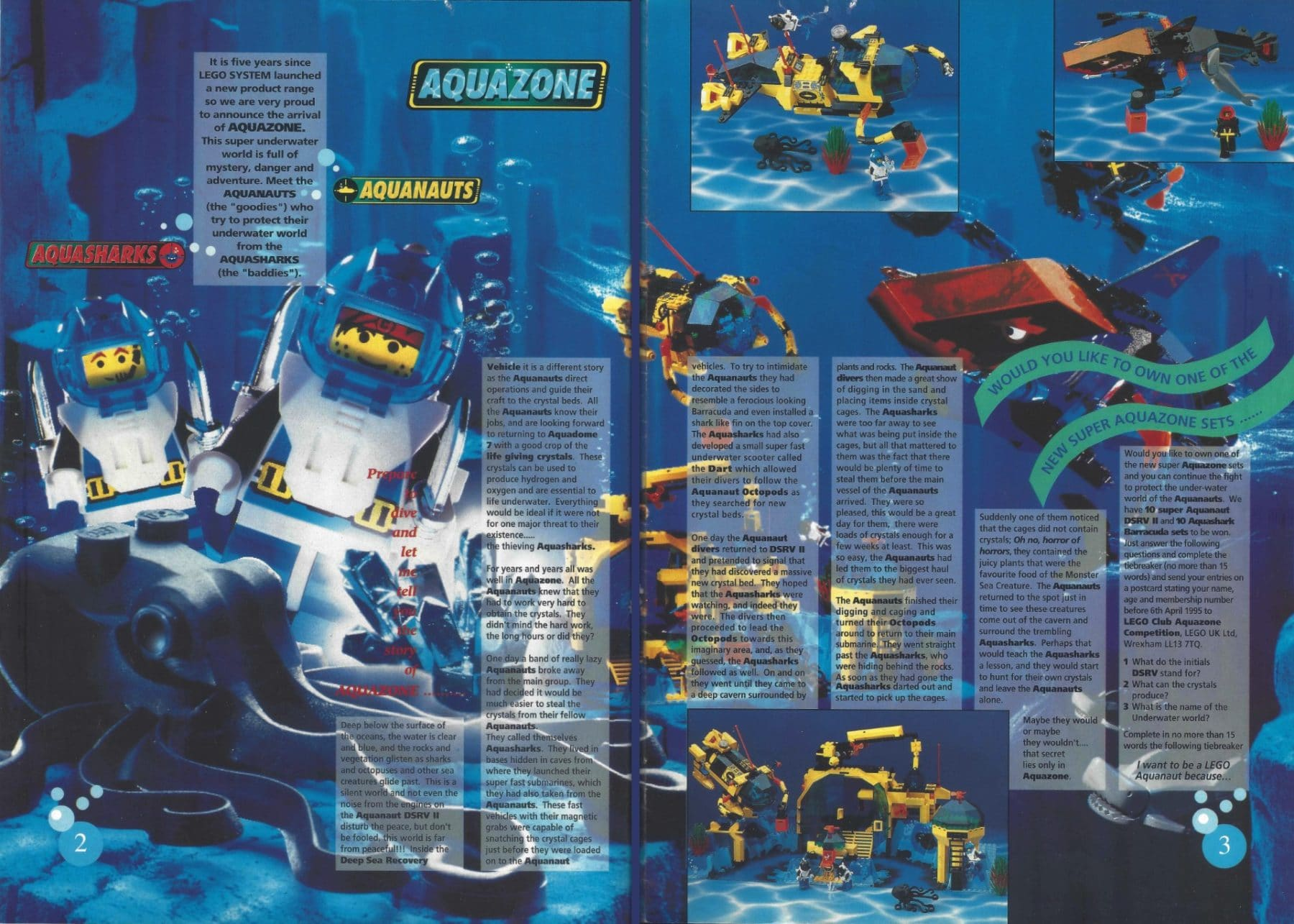 Bricks 'n' Pieces Magazin 1995, Ausgabe 1