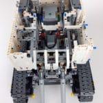 LEGO Technic 42100 Liebherr R 9800: Ansicht von vorne