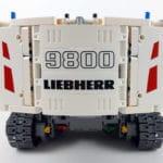 LEGO Technic 42100 Liebherr R 9800: Der Aufbau von hinten