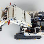 LEGO Technic 42100 Liebherr R 9800: Ansicht von oben