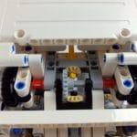 LEGO Technic 42100 Liebherr R 9800: Gelenk des Arms mit Drehtellern rechts und links