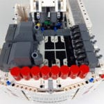 LEGO Technic 42100 Liebherr R 9800: Aufbauten