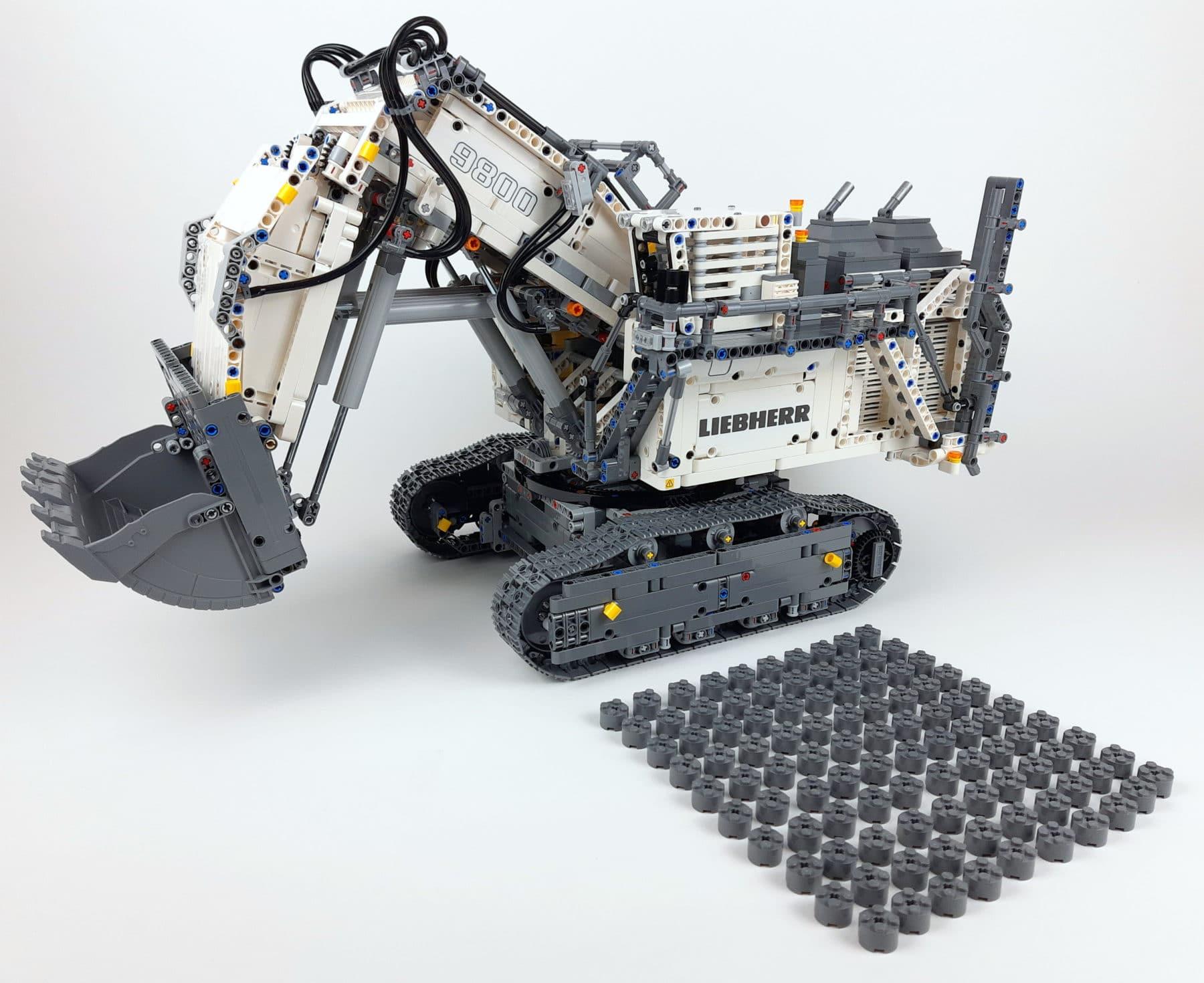 LEGO Technic 42100 Liebherr R 9800: Bauabschnitt 6 fertig