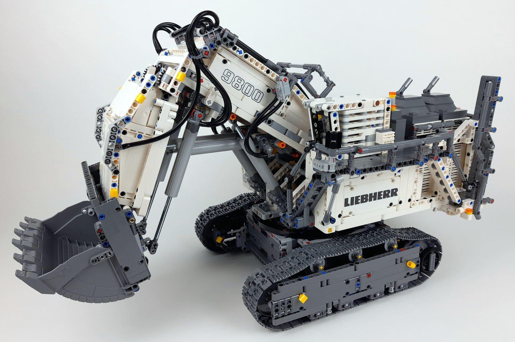 LEGO Technic 42100 Liebherr R 9800: Bauabschnitt 5 fertig