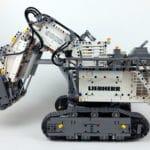 LEGO Technic 42100 Liebherr R 9800: Ansicht von links