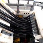 LEGO Technic 42100 Liebherr R 9800: Die Pneumatikschläuche enden in der Luft