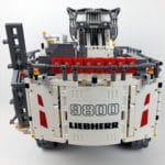 LEGO Technic 42100 Liebherr R 9800: Ansicht von hinten