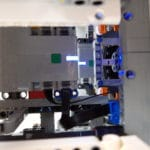LEGO Technic 42100 Liebherr R 9800: Beide Hubs sind von oben sichtbar
