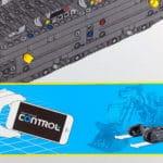 LEGO Technic 42100 Liebherr R 9800: Aufforderung in der Anleitung den bisherigen Fortschritt zu testen