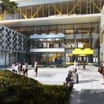 LEGO Campus Rendering Eingang
