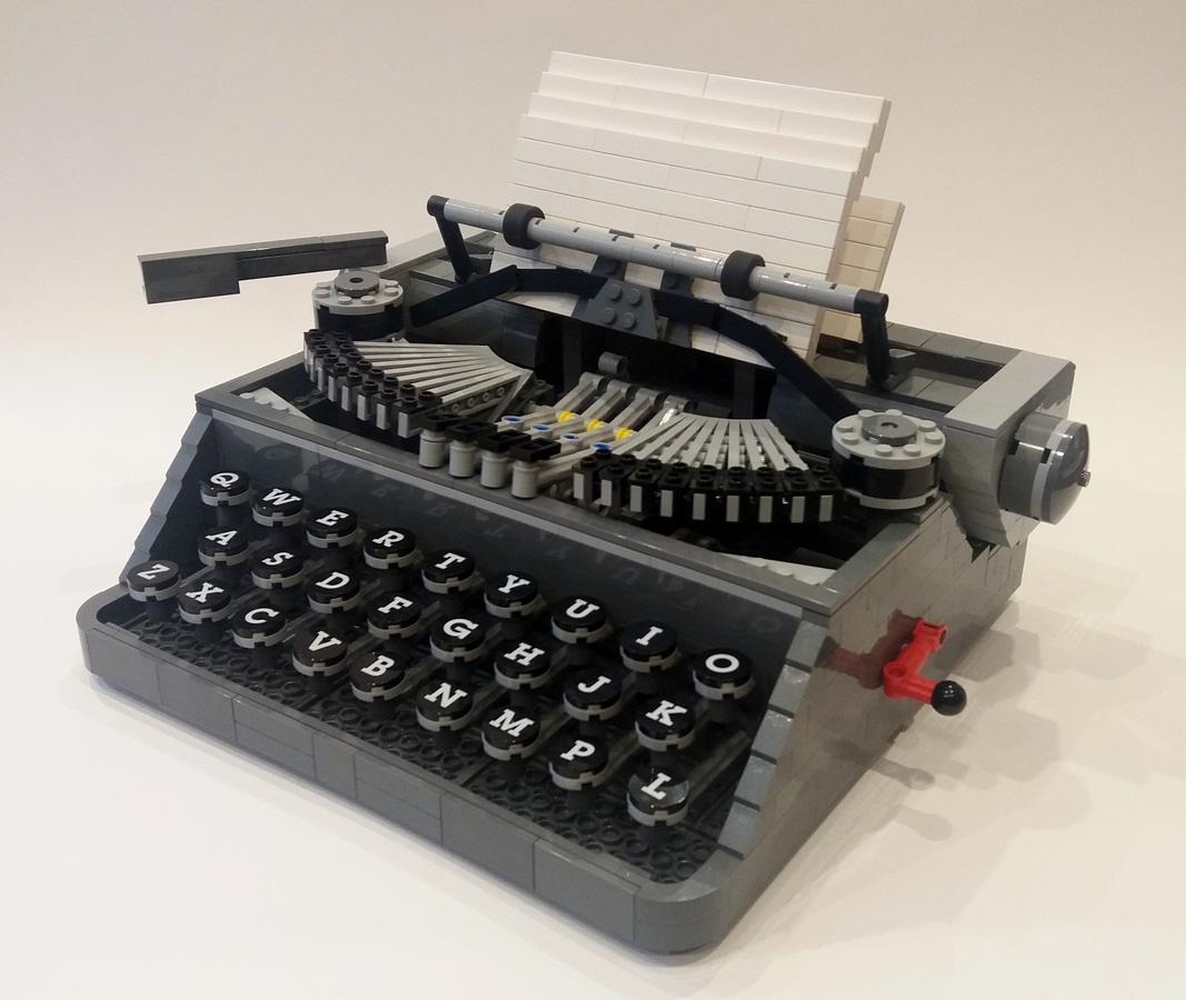 LEGO Ideas Typewrighter