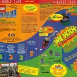 Treueprämien im LEGO World Club Magazin, Ausgabe Mai/ Juni 1997. Auf der rechten Seite wird das Set 2161 für 41 Treuepunkte beworben. Danke an Jonas für den Scan!