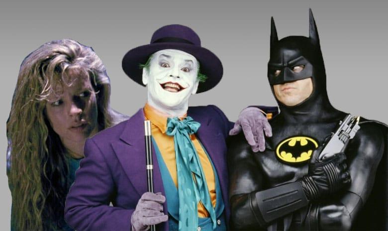Batman, Joker und Vicki Vale (1989)