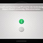 CONTROL+ App: Bluetooth aktiv