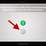 CONTROL+ App: Standort aktivieren (Schnritt 1)