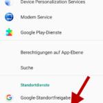 CONTROL+ App: Standort aktivieren (Schnritt 4)
