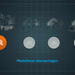CONTROL+ App: Start des ersten Tests