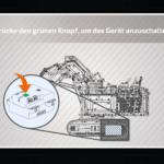 CONTROL+ App: Verbindung zum unteren Hub herstellen