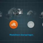 CONTROL+ App: Der nächste Test kann gestartet werden