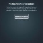 CONTROL+ App: Zurücksetzen (Schritt 4)