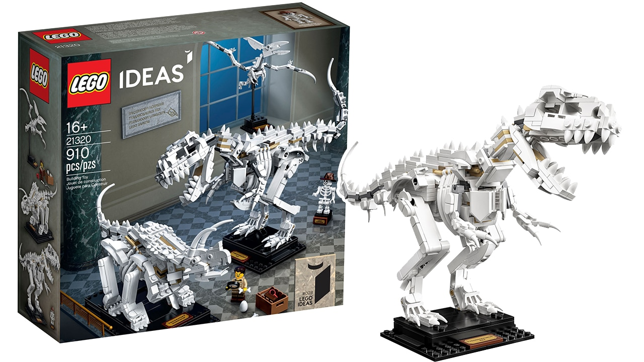 LEGO 21320 Dinosaurier Fossilien