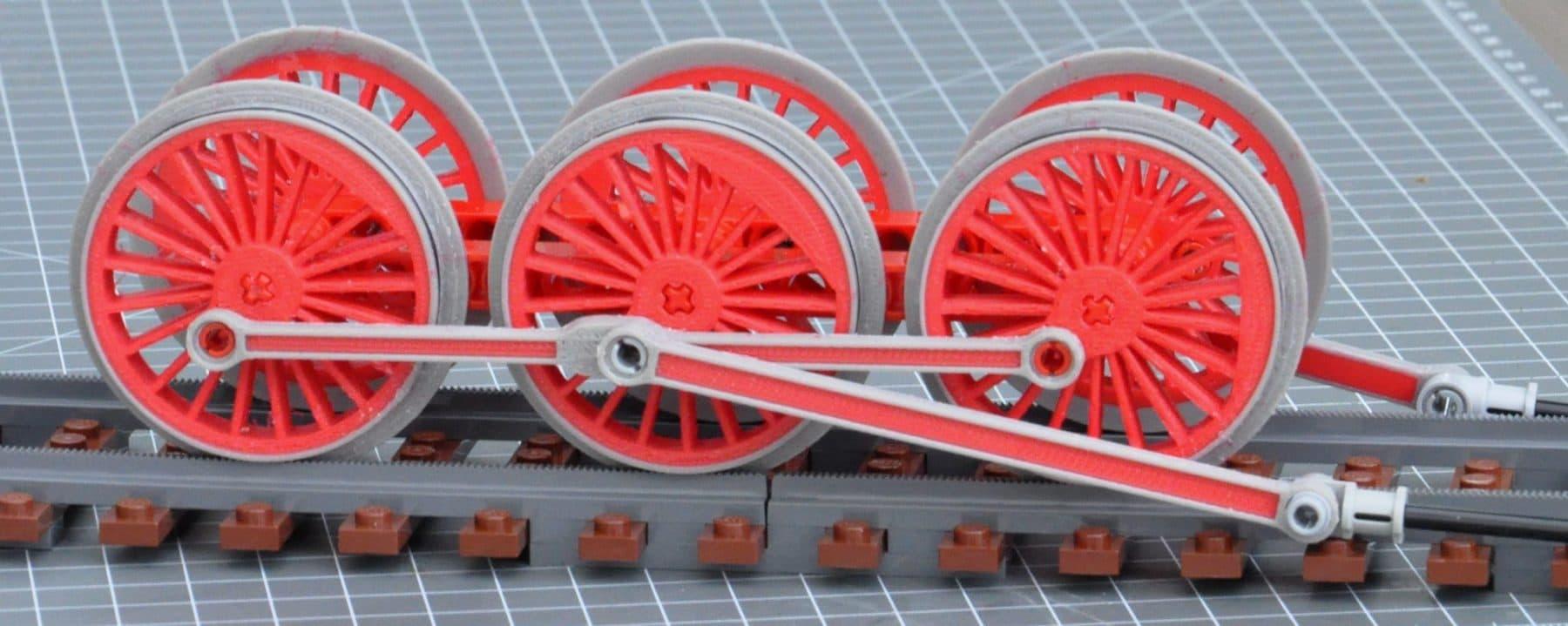 LEGO 3D Druck Eisenbahnräder