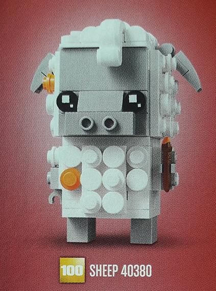 LEGO 40380 Schaf BrickHeadz
