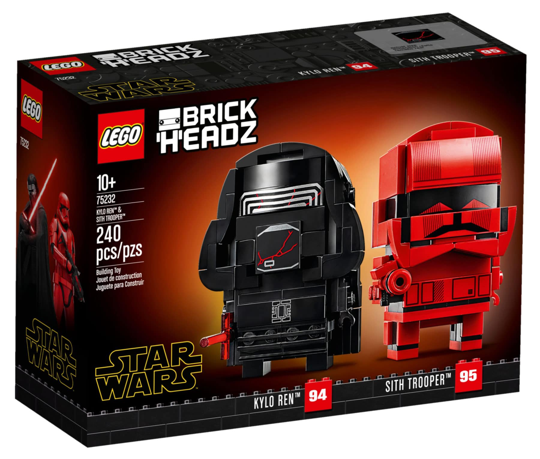 LEGO Star Wars 75232 Kylo Ren und Sith Trooper BrickHeadz