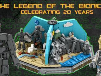 LEGO Ideas Bionicle Entwurf