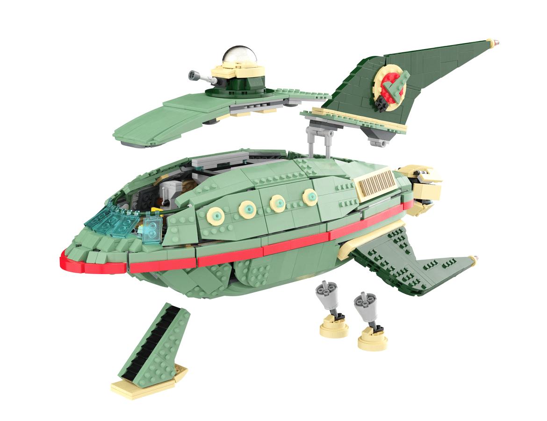 LEGO Ideas Futurama Raumschiff