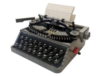 LEGO Ideas Schreibmaschine