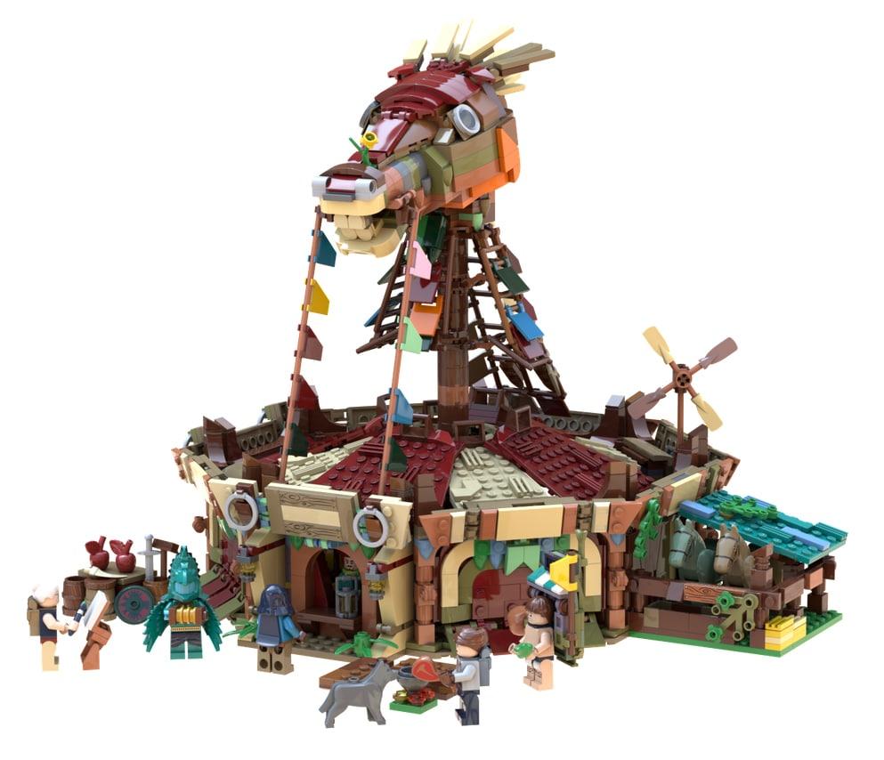LEGO Ideas Zelda Entwurf