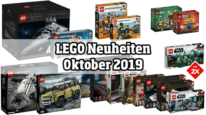 LEGO Neuheiten Oktober 2019